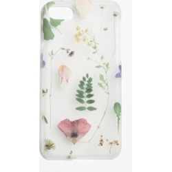 Dried Flower iPhone Case - White