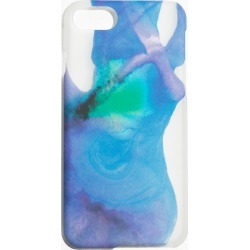 Watercolour iPhone Case - Blue