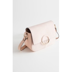 Exposed Ring Leather Bag - Beige found on Bargain Bro UK from & other stories