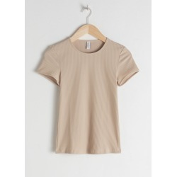 Stretch Cotton Top - Beige found on Bargain Bro UK from & other stories