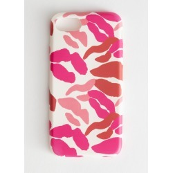 Kisses iPhone Case - Pink found on Bargain Bro UK from & other stories