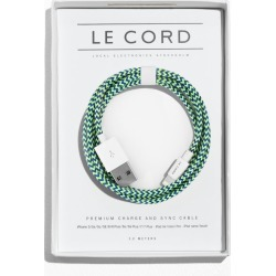 Le Cord USB Charge Cable - Green