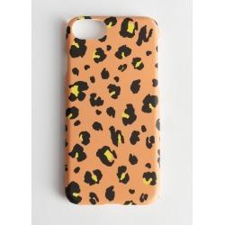 Hard Leopard iPhone Case - Yellow