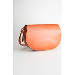 Leather Crossbody Saddle Bag - Yellow found on Bargain Bro UK from & other stories