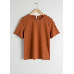 Organic Cotton T-Shirt - Orange found on Bargain Bro UK from & other stories
