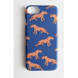 Tiger iPhone Case - Blue