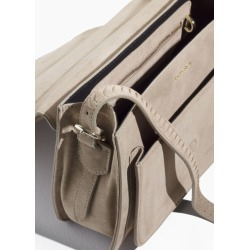 Suede Messenger Bag - Beige found on Bargain Bro UK from & other stories