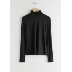 Fitted Stretch Turtleneck - Black found on Bargain Bro UK from & other stories