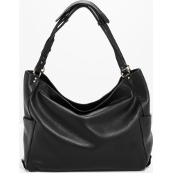 Double Strap Leather Hobo Bag - Black found on Bargain Bro UK from & other stories