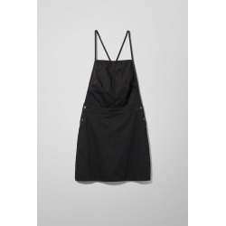 Irene Denim Dress Washed Black - Black found on MODAPINS from Weekday for USD $23.07