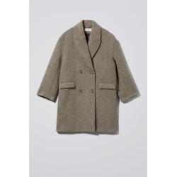 Michelle Coat - Brown found on Bargain Bro UK from Weekday