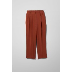 Ritz Drapy Trousers - Orange found on Bargain Bro UK from Weekday