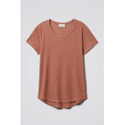 Uma T-Shirt - Orange found on Bargain Bro UK from Weekday