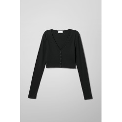 Teegan Cardigan - Black found on Bargain Bro UK from Weekday