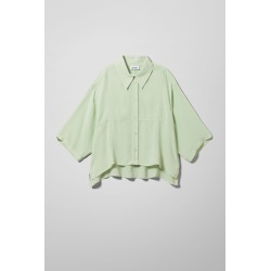 Heidi Shirt - Green found on Bargain Bro UK from Weekday