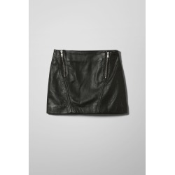 Sitar Leather Skirt - Black found on Bargain Bro UK from Weekday