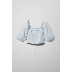 Lola Denim Top - Blue found on Bargain Bro UK from Weekday