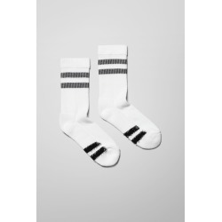 Turned Socks - White found on Bargain Bro UK from Weekday
