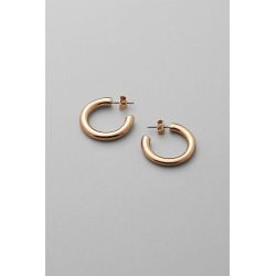 Thick Hoop Earrings - Gold found on Bargain Bro UK from Weekday