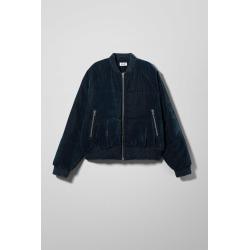 Conga Velvet Jacket - Blue found on Bargain Bro UK from Weekday