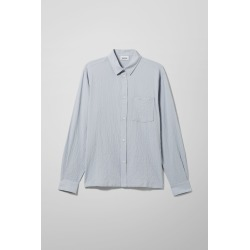 Wise Striped Shirt - Blue found on Bargain Bro UK from Weekday