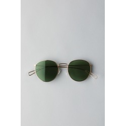 Explore Rounded Sunglasses - Gold found on Bargain Bro UK from Weekday
