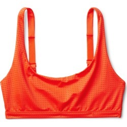 Cay Mesh Swim Top - Orange found on Bargain Bro UK from Weekday