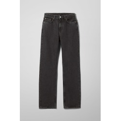Voyage High Straight Jeans - Black found on Bargain Bro UK from Weekday