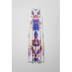 Santa Cruz Spot Printed Dress - White found on Bargain Bro UK from Weekday