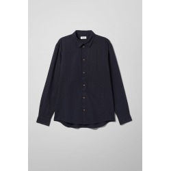 Lead Linen Shirt - Blue found on Bargain Bro UK from Weekday