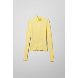 Ryan Cardigan - Yellow found on Bargain Bro UK from Weekday