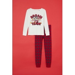 H & M - Printed Pajamas - White found on MODAPINS from H&M (US) for USD $17.99
