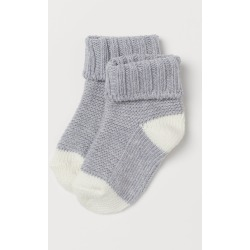 H & M - Knit Socks - Gray