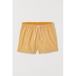 H & M - Swim Shorts - Yellow