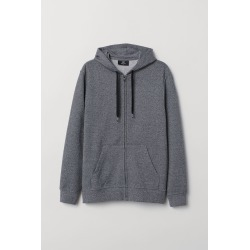 H & M - Regular Fit Hooded Jacket - Black found on Bargain Bro India from H&M (US) for $21.43