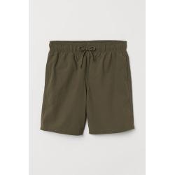 H & M - Knee-length Swim Shorts - Green
