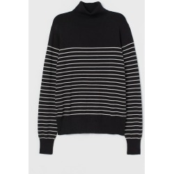 H & M - Fine-knit Turtleneck Sweater - Black found on Bargain Bro Philippines from H&M (US) for $14.99