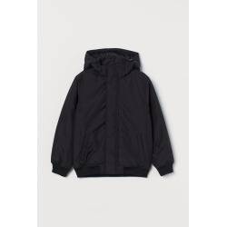 H & M - Padded Jacket - Black found on Bargain Bro Philippines from H&M (US) for $39.99