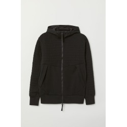 H & M - Hooded Track Jacket - Black found on Bargain Bro India from H&M (US) for $49.99