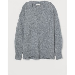 H & M - Knit Sweater - Gray found on Bargain Bro Philippines from H&M (US) for $19.99