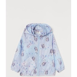 H & M - Patterned Windbreaker - Blue found on Bargain Bro from H&M (US) for USD $22.79