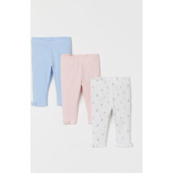H & M - 3-pack Leggings - Blue found on Bargain Bro from H&M (US) for USD $11.39