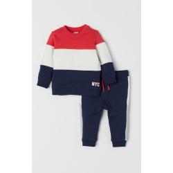 H & M - Sweatshirt and Pants - Blue