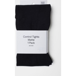 H & M - 200 Denier Control-top Tights - Black found on Bargain Bro India from H&M (US) for $12.99