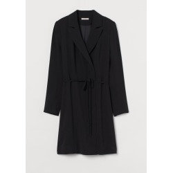 H & M - Jacket Dress - Black found on Bargain Bro from H&M (US) for USD $45.59