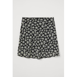 H & M - A-line Skirt - Black found on Bargain Bro from H&M (US) for USD $13.67