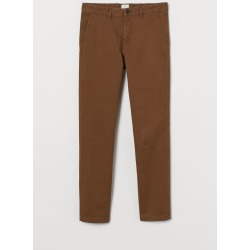 H & M - Skinny Fit Cotton Chinos - Beige found on Bargain Bro from H&M (US) for USD $22.79