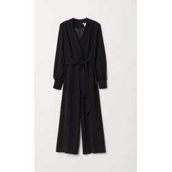 H & M - Fitted Jumpsuit - Black found on Bargain Bro India from H&M (US) for $32.99