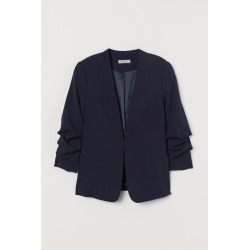 H & M - Fitted Jacket - Blue