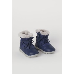 H & M - Warm-lined Boots - Blue